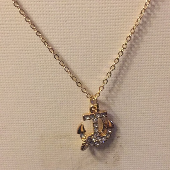 LC Lauren Conrad Jewelry - NWT Gold Necklace with Anchor